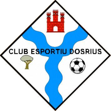 Escudo de C.F. DOSRIUS 2010 (CATALUÑA)