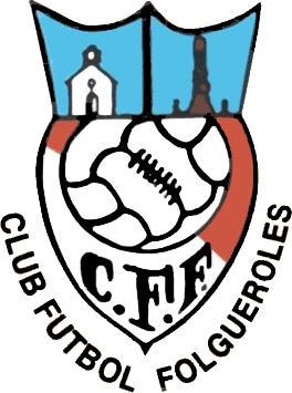 Escudo de C.F. FOLGUEROLES (CATALUNHA)
