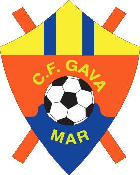 Escudo de C.F. GAVÁ MAR (CATALUÑA)