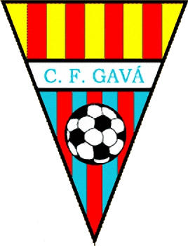 Escudo de C.F. GAVA  (CATALUÑA)