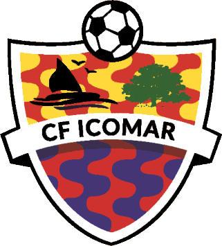 Escudo de C.F. ICOMAR (CATALUÑA)
