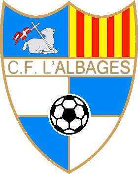 Escudo de C.F. L'ALBAGES (CATALUÑA)
