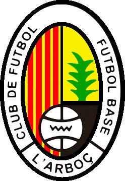 Escudo de C.F. L'ARBOÇ (CATALUÑA)