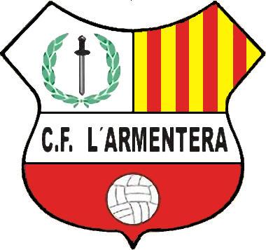 Escudo de C.F. L'ARMENTERA (CATALUÑA)