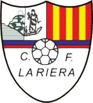 Escudo de C.F. LA RIERA (CATALUÑA)