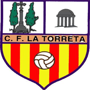 Escudo de C.F. LA TORRETA (CATALUNHA)