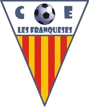 Escudo de C.F. LES FRANQUESES (CATALUNHA)