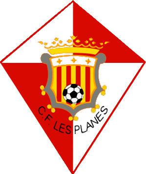 Escudo de C.F. LES PLANES (CATALUÑA)