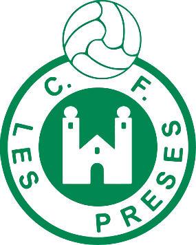 Escudo de C.F. LES PRESES (CATALUÑA)