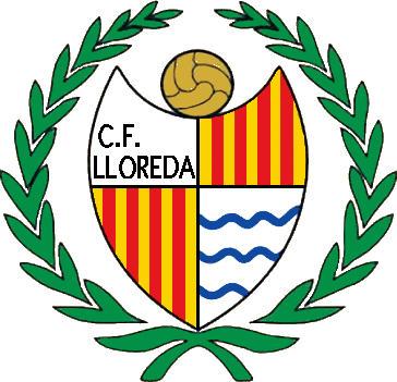 Escudo de C.F. LLOREDA (CATALUNHA)