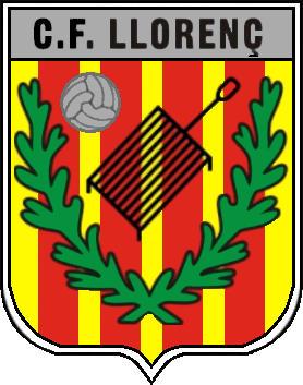 Escudo de C.F. LLORENÇ (CATALUÑA)