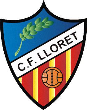 Escudo de C.F. LLORET (CATALUNHA)