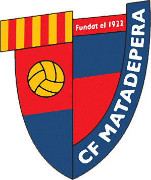 Escudo de C.F. MATADEPERA (CATALUÑA)