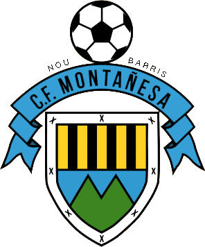 Escudo de C.F. MONTAÑESA (CATALUÑA)