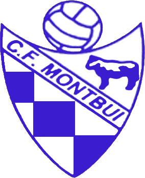 Escudo de C.F. MONTBUI (CATALUÑA)