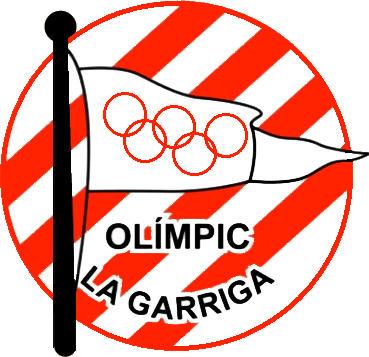 Escudo de C.F. OLÍMPIC LA GARRIGA (CATALUÑA)