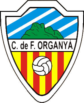 Escudo de C.F. ORGANYÀ (CATALUÑA)