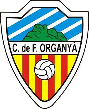 Escudo de C.F. ORGANYÁ (CATALUÑA)