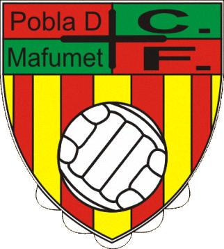 Escudo de C.F. POBLA DE MAFUMET (CATALUÑA)