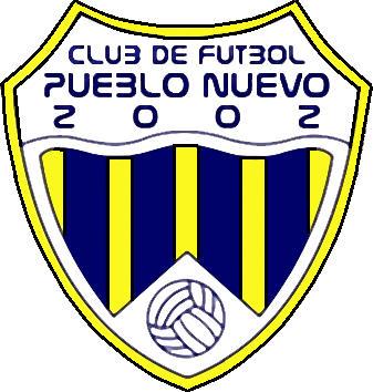 Escudo de C.F. PUEBLO NUEVO 2002 (CATALUÑA)