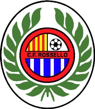 Escudo de C.F. ROSSELLÓ (CATALUÑA)