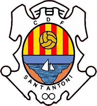 Escudo de C.F. SANT ANTONI. (CATALUÑA)