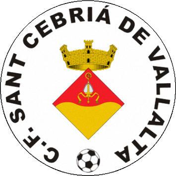 Escudo de C.F. SANT CEBRIÁ DE VALLALTA (CATALUÑA)