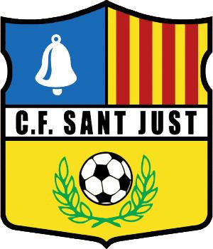 Escudo de C.F. SANT JUST DESVERN (CATALUÑA)
