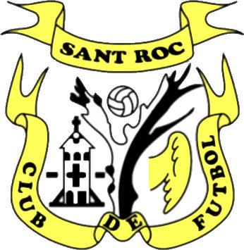 Escudo de C.F. SANT ROC OLOT (CATALUÑA)