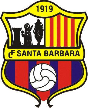 Escudo de C.F. SANTA BÁRBARA (CATALUNHA)