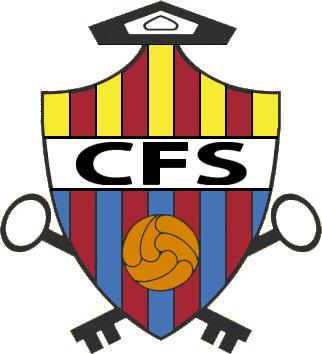 Escudo de C.F. SANTPEDOR (CATALUÑA)