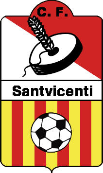 Escudo de C.F. SANTVICENTÍ (CATALUÑA)
