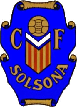Escudo de C.F. SOLSONA (CATALUÑA)