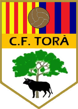 Escudo de C.F. TORÁ (CATALUNHA)