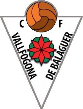 Escudo de C.F. VALLFOGONA DE BALAGUER (CATALUÑA)
