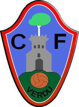 Escudo de C.F. VERDÚ-VALL DEL CORB (CATALUÑA)