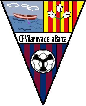 Escudo de C.F. VILANOVA DE LA BARCA (CATALUÑA)