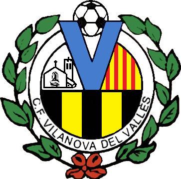 Escudo de C.F. VILANOVA DEL VALLÈS (CATALUÑA)