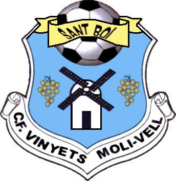 Escudo de C.F. VINYETS MOLI-VELL (CATALUÑA)
