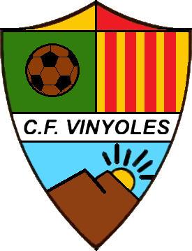 Escudo de C.F. VINYOLES (CATALUÑA)