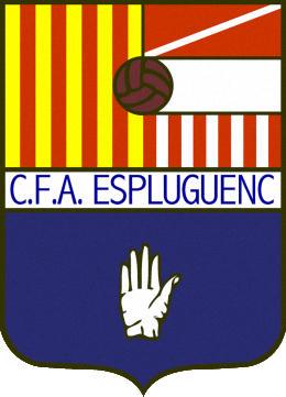 Escudo de C.F.A. ESPLUGUENC (CATALUNHA)