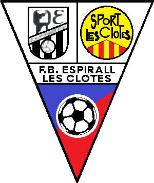 Escudo de C.F.B. ESPIRAL LES CLOTES (CATALUÑA)