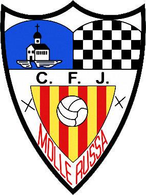 Escudo de C.F.J. MOLLERUSA (CATALUÑA)