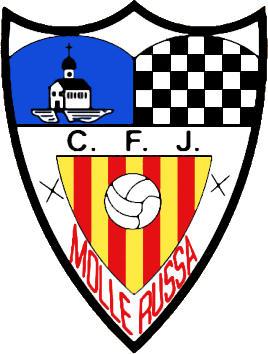 Escudo de C.F.J. MOLLERUSSA (CATALUÑA)