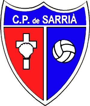 Escudo de C.P. DE SARRIÁ (CATALUNHA)
