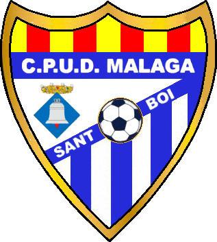 Escudo de C.P.U.D. MÁLAGA (CATALUÑA)