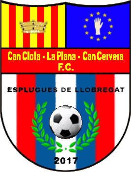Escudo de CAN CLOTA-LA PLANA-CAN CERVERA F.C. (CATALUÑA)
