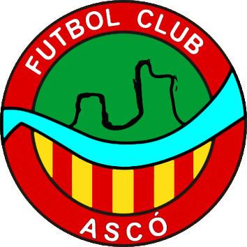 Escudo de F.C. ASCÓ (CATALUÑA)
