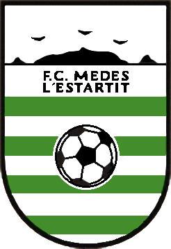 Escudo de F.C. MEDES L'ESTARTIT (CATALUÑA)