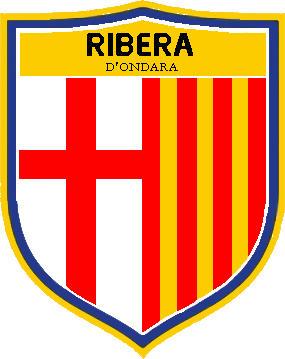 Escudo de F.C. RIBERA D'ONDARA DESDE 2017 (CATALUÑA)